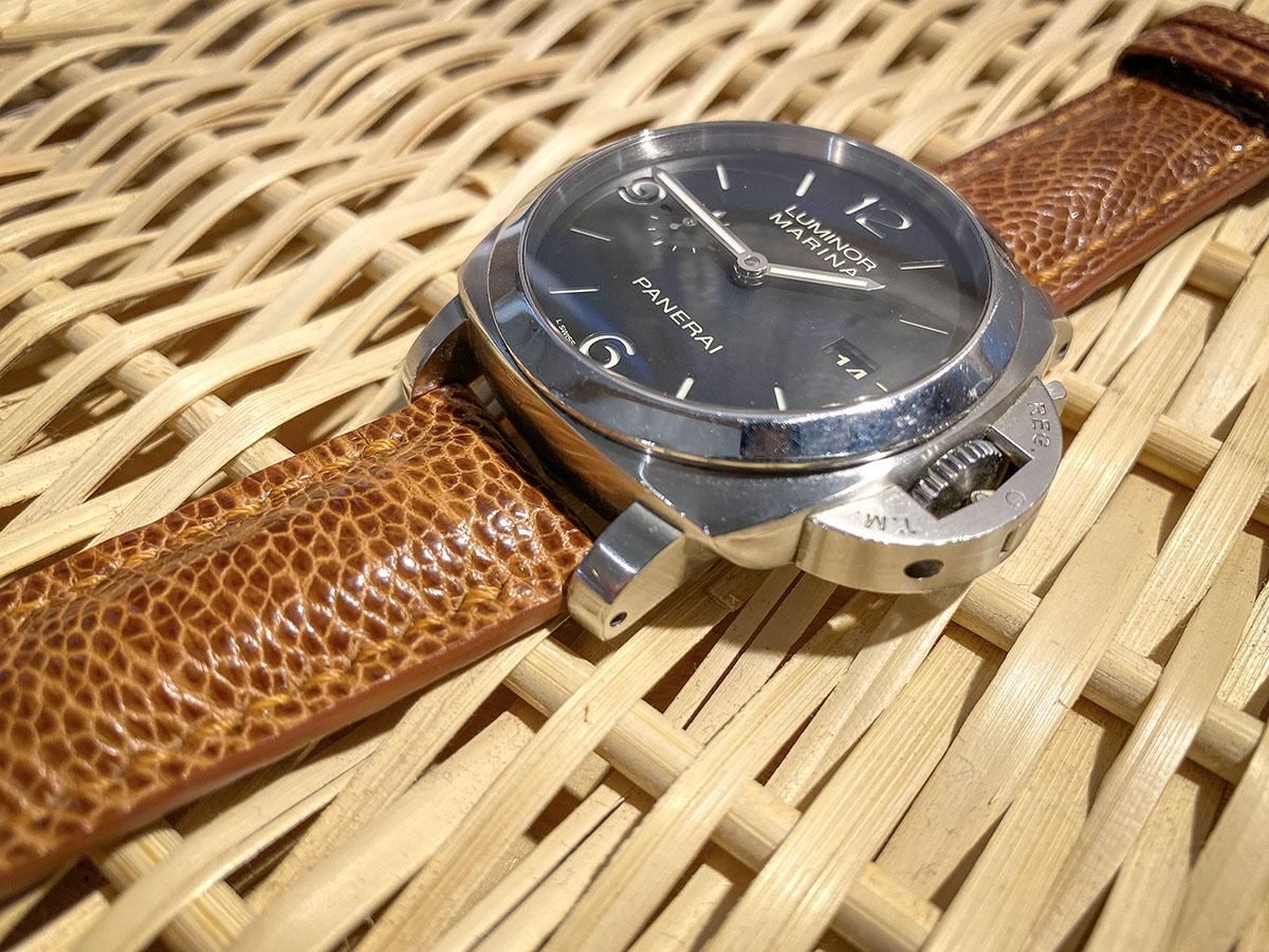 オーストリッチ腕時計ベルト レザー腕時計ベルト「Yoshiki-WatchBox」