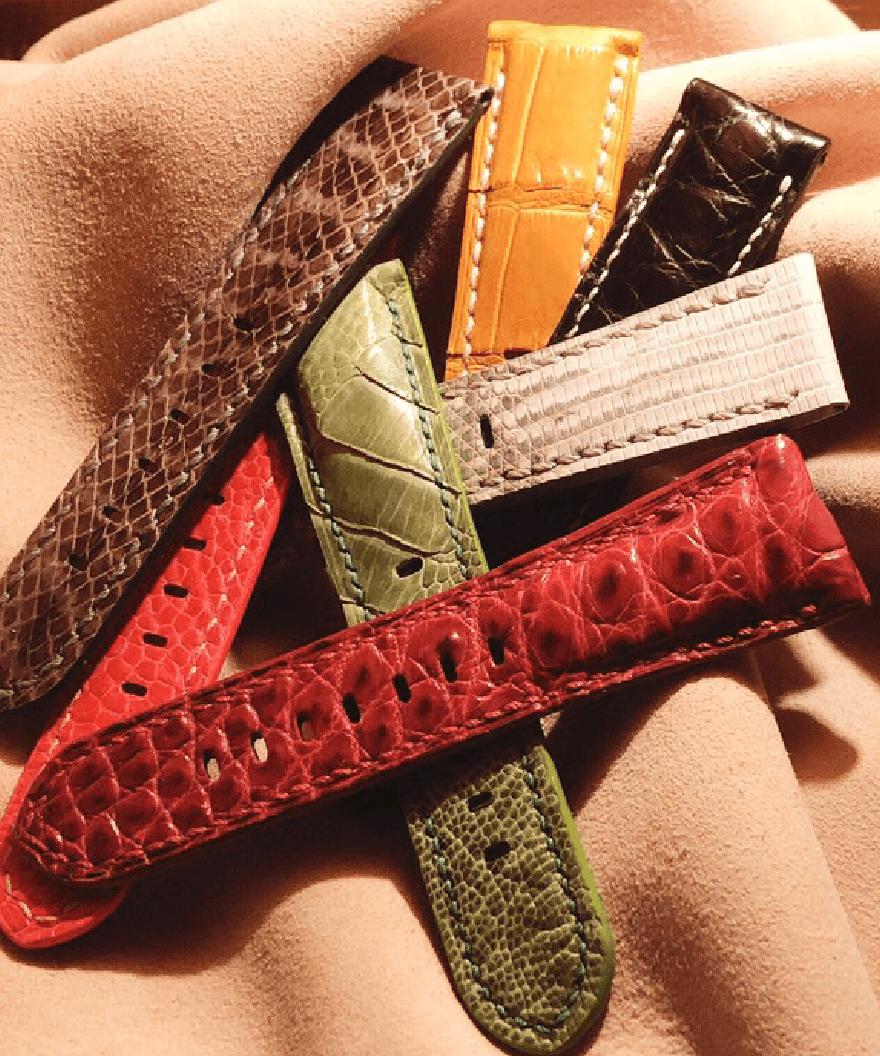 ギャラリー|レザー腕時計ベルト「Yoshiki-WatchBox」