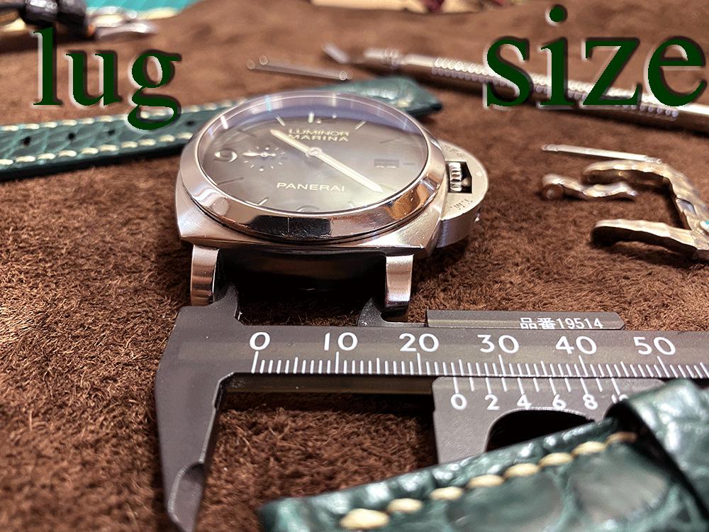 腕時計のラグサイズに関してpage-visual 腕時計のラグサイズに関してビジュアル