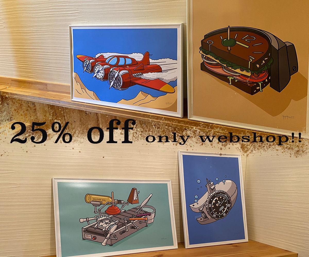 Watches  &  Pencils  ウェブショップのみ25% OFF ・・・page-visual Watches  &  Pencils  ウェブショップのみ25% OFF ・・・ビジュアル