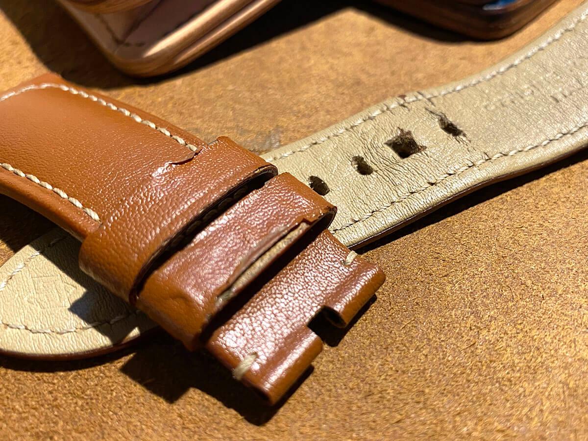 腕時計ベルトの劣化・・・page-visual 腕時計ベルトの劣化・・・ビジュアル