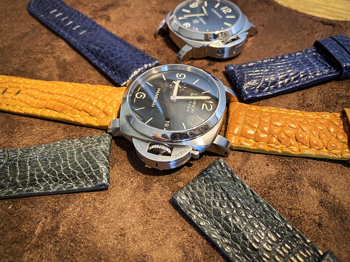 クロコダイル レッグ部の腕時計ベルトですpage-visual クロコダイル レッグ部の腕時計ベルトですビジュアル